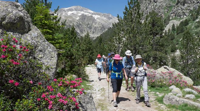 guided walking holidays Northern Spain - Highlights of the Pyrenees