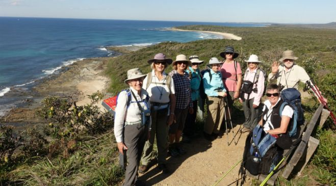 guided walking holidays New South Wales - North Coast to the Tablelands