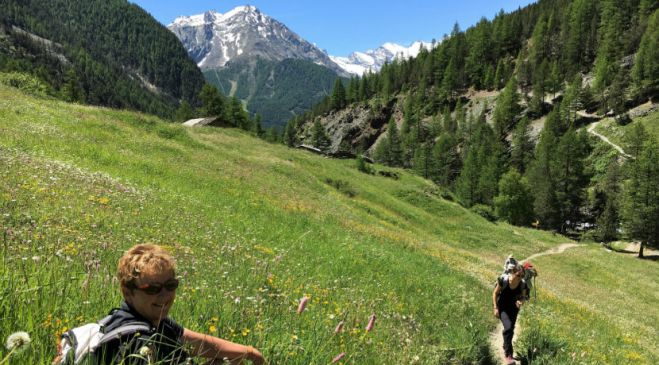 guided walking holidays Dolomites to the Oberland