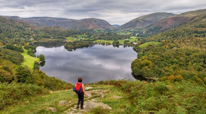 guided walking holidays England - Dorset, Devon & the Lakes