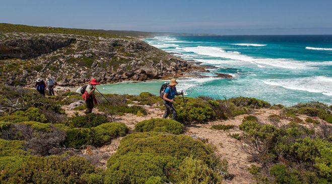 guided walking holidays Kangaroo Island - Coastal Walks & Wildlife