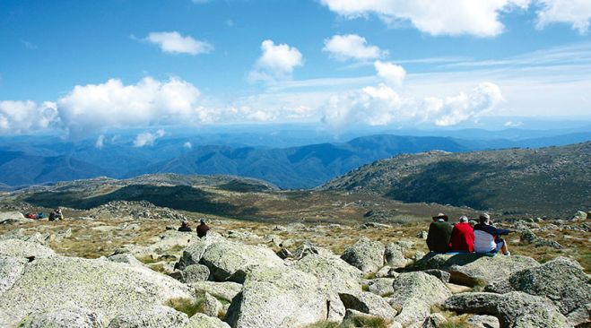 guided walking holidays Australian Alps