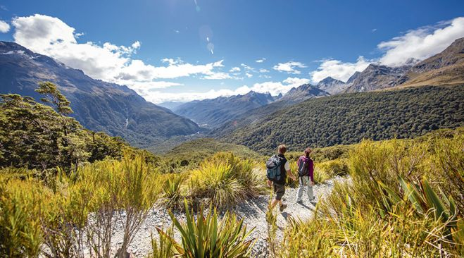guided walking holidays New Zealand - Timeless Tramping
